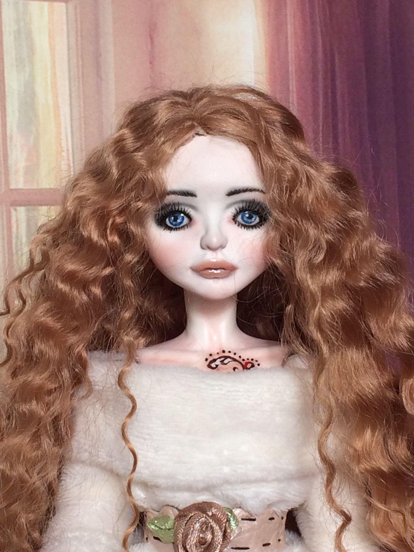 Шарнирная кукла из полимерной глины своими руками