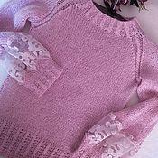 """Свитеры ручной работы. Ярмарка Мастеров - ручная работа Свитер """"Розовая мечта"""". Handmade."""