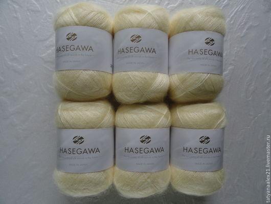 Вязание ручной работы. Ярмарка Мастеров - ручная работа. Купить Пряжа Hasegawa Seika № 21 PASTEL YELLOW. Handmade.