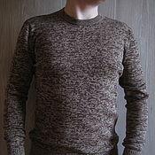 """Пуловеры ручной работы. Ярмарка Мастеров - ручная работа Вязаный мужской пуловер """" Truffle mix"""". Handmade."""