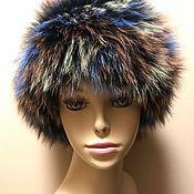 Аксессуары handmade. Livemaster - original item Headband from Arctic Fox COLOR