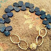 Украшения handmade. Livemaster - original item Lapis. Necklace. Handmade.