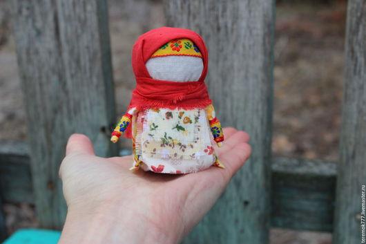 Народные куклы ручной работы. Ярмарка Мастеров - ручная работа. Купить Оберег Крупеничка. Handmade. Желтый, обереги в подарок, зерновушка