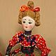 Народные куклы ручной работы. Кукла на чайник. Мила Колесникова. Интернет-магазин Ярмарка Мастеров. Народная кукла, интерьерная кукла