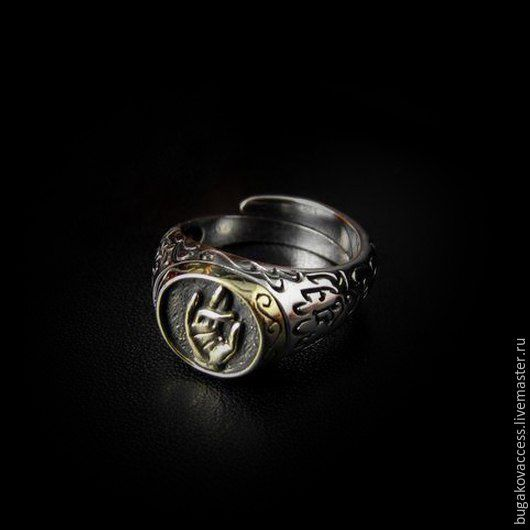 Faith Ring of silver 925 and brass jewelry, Rings, Moscow,  Фото №1