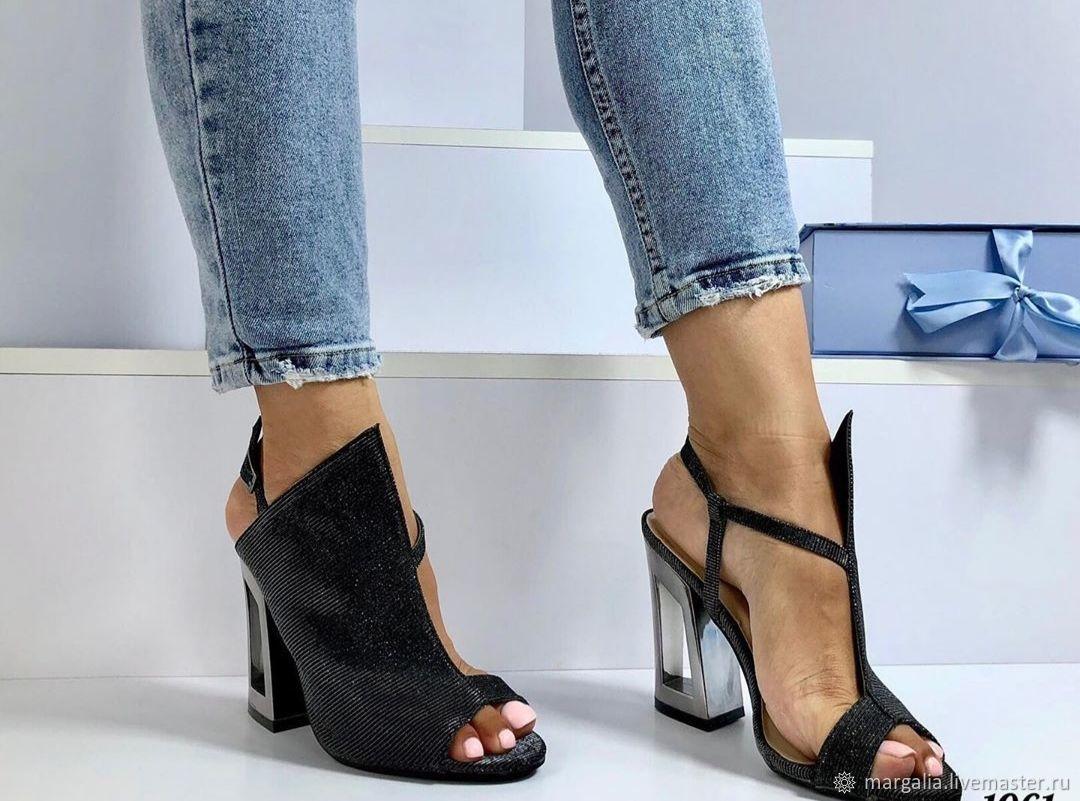 Обувь ручной работы. Ярмарка Мастеров - ручная работа. Купить Туфли. Handmade. Босоножки, обувь ручной работы, женская обувь