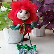"""Для дома и интерьера ручной работы. Ярмарка Мастеров - ручная работа Интерьерная куколка"""" Маковка"""". Handmade."""