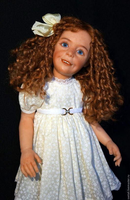 Коллекционные куклы ручной работы. Ярмарка Мастеров - ручная работа. Купить ЗОЯ 55см. Handmade. Рыжий, куклы-дети, генезис