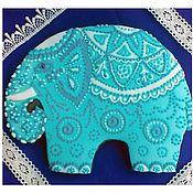 Пряники ручной работы. Ярмарка Мастеров - ручная работа Имбирный пряник с начинкой Слон,исполняющий желания. Handmade.