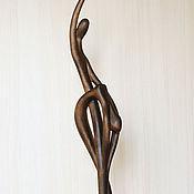 """Для дома и интерьера ручной работы. Ярмарка Мастеров - ручная работа """"Мелодия любви"""" скульптура из дерева. Handmade."""