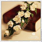 Свадебный салон ручной работы. Ярмарка Мастеров - ручная работа Цветы яблони. Handmade.