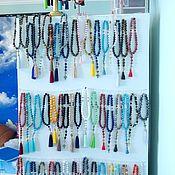 Фен-шуй и эзотерика handmade. Livemaster - original item Individual rosaries on special order made of natural stones. Handmade.