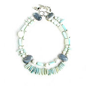 Украшения handmade. Livemaster - original item Opal necklace