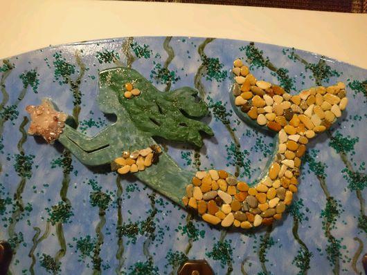 Прихожая ручной работы. Ярмарка Мастеров - ручная работа. Купить Вешалка - русалка. Handmade. Русалка, Дерево натуральное