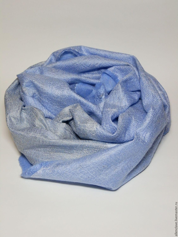 scarf felted Cold haze, Scarves, Barnaul,  Фото №1