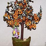 Сувениры и подарки ручной работы. Ярмарка Мастеров - ручная работа Конфетное дерево с крендельками. Handmade.