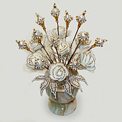 Цветы и флористика handmade. Livemaster - original item Flowers from pearls