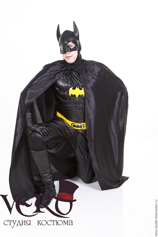 Костюм бэтмена своими руками с