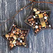 Сувениры и подарки handmade. Livemaster - original item Wooden box planter star. Handmade.