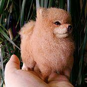 Подарки к праздникам handmade. Livemaster - original item Pomeranian, miniature wool. Handmade.
