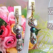 Украшения handmade. Livemaster - original item Earrings GLARE of the RAINBOW. Handmade.