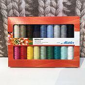 Материалы для творчества handmade. Livemaster - original item A set of thread Seralon (mettler). Handmade.