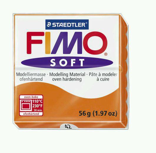Для украшений ручной работы. Ярмарка Мастеров - ручная работа. Купить Мандарин (42) - Fimo Soft. Handmade. Глина, апельсин