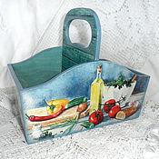 Shelves handmade. Livemaster - original item Box for spices ode to the garden. Handmade.