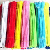 Материалы для творчества ручной работы. Ярмарка Мастеров - ручная работа Проволока синельная 18 цветов. Handmade.