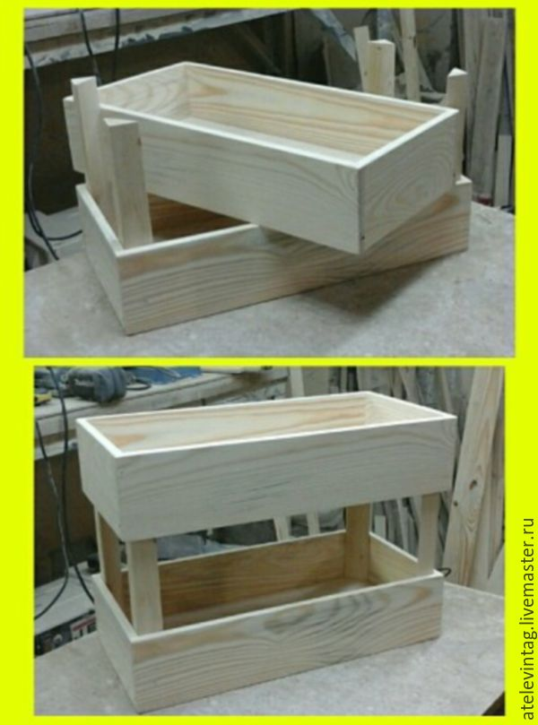 Box set 2 PCs, billet 120, Blanks for decoupage and painting, Tula,  Фото №1