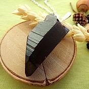 Украшения handmade. Livemaster - original item Pendant with smoky quartz with transition to morion. Handmade.