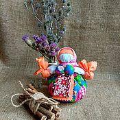 Куклы и игрушки handmade. Livemaster - original item Kubyshka travnitsa traditional doll amulet for health Rosehips. Handmade.