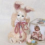 Куклы и игрушки ручной работы. Ярмарка Мастеров - ручная работа Амели зайка тедди-долл.. Handmade.