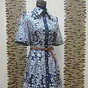 """Одежда handmade. Livemaster - original item Авторское платье """"Jeans Queen-2"""". Handmade."""
