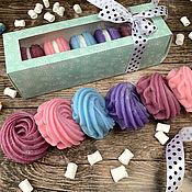 Косметика ручной работы handmade. Livemaster - original item Vanilla Marshmallow Soap Set. Handmade.