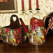 """Цветы и флористика ручной работы. Ярмарка Мастеров - ручная работа лейка """"Старый погребок"""". Handmade."""