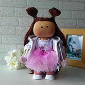 Куклы и игрушки handmade. Livemaster - original item Doll games. Interior textile doll with clothes. Handmade.