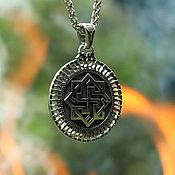 Украшения handmade. Livemaster - original item Talisman/Pendant Valkyrie of silver 925. Handmade.