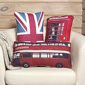 Для дома и интерьера ручной работы. Ярмарка Мастеров - ручная работа Комплект декоративных подушек Лондон, Англия. Handmade.