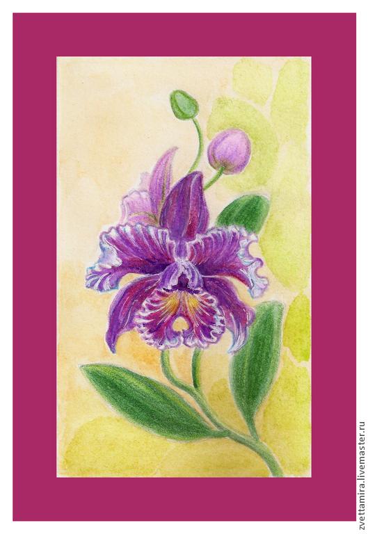 Картины для интерьера орхидея