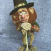 Куклы и игрушки ручной работы. Ярмарка Мастеров - ручная работа Лепрекон. Handmade.