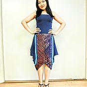 Платья ручной работы. Ярмарка Мастеров - ручная работа Платье (юбка) из эксклюзивной авторской ткани. Handmade.