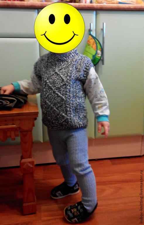 Одежда унисекс ручной работы. Ярмарка Мастеров - ручная работа. Купить Жилетки детские. Handmade. Разноцветный, жилет для девочки