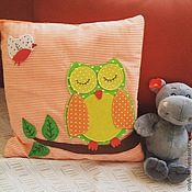 Для дома и интерьера ручной работы. Ярмарка Мастеров - ручная работа подушка детская. Handmade.