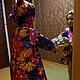 Одежда для девочек, ручной работы. Детский плащ с огромными цветами. Красивое-простое (n-kochneva). Ярмарка Мастеров. Куртка детская