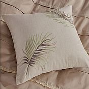 handmade. Livemaster - original item Beautiful BED LINEN with embroidery and lace.. Handmade.