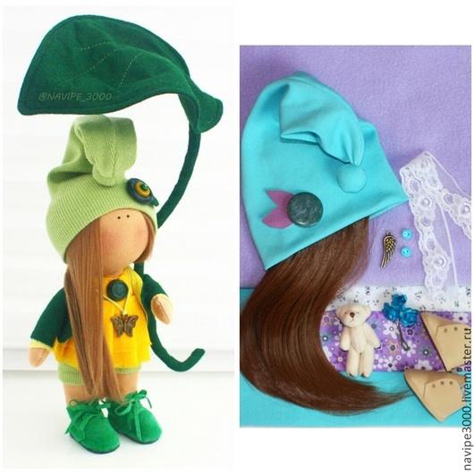 Куклы тыквоголовки ручной работы. Ярмарка Мастеров - ручная работа. Купить Набор для самостоятельного изготовления куклы. Handmade. Разноцветный