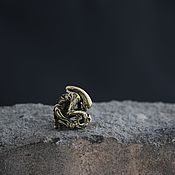 Сувениры и подарки handmade. Livemaster - original item Bead for paracord alien,bead lanyard alien. Handmade.