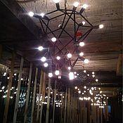 Для дома и интерьера ручной работы. Ярмарка Мастеров - ручная работа Люстра потолочная лофт. Handmade.
