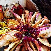Для дома и интерьера ручной работы. Ярмарка Мастеров - ручная работа Короб для кухни Яблоко&Калина. Handmade.